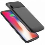 Чехол-аккумулятор Rock P41 6000 mAh для iPhone X чёрный