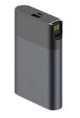 Внешний аккумулятор с 4G-модемом Xiaomi Mi ZMI Power Bank 10000 мАч черный (MF885)