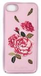 Пластиковый чехол с вышитым рисунком Santa Barbara Flowers Series для iPhone 8 / iPhone 7 розовый