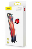 Защитное стекло Baseus Pet Soft Curved Screen Tempered Glass Protector для iPhone XS / iPhone X (SGAPIPHX-KA01)