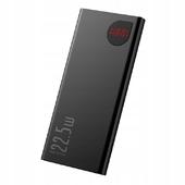 Внешний аккумулятор Baseus Adaman Metal Digital Display Quick Charge Power Bank 22.5W 10000 мАч черный (PPIMDA-B0A)
