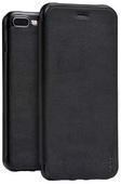 Кожаный чехол HOCO Juice Series Nappa Leather Case для iPhone 8 Plus / iPhone 7 Plus черный