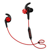 Беспроводные наушники для спорта с регулировкой громкости Xioami 1MORE iBFree Bluetooth Earphones красные