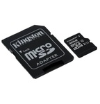 Карта памяти Kingston microSDHC 32GB Class 10 с адаптером