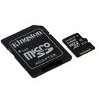 Карта памяти Kingston microSDHC 64GB Class 10 с адаптером