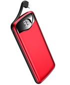 Внешний аккумулятор USAMS US-CD90 PB28 Power bank 10000 мАч красный