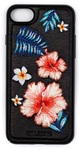 Пластиковый чехол с вышитым рисунком Santa Barbara Flowers Series для iPhone 8 / iPhone 7 черный