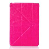 Чехол Gurdini оригами для iPad mini 3 / iPad mini 2 малиновый