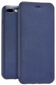 Кожаный чехол HOCO Juice Series Nappa Leather Case для iPhone 8 Plus / iPhone 7 Plus темно-синий