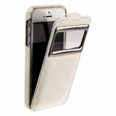 Чехол Melkco для iPhone SE / iPhone 5S / iPhone 5 Leather Case Jacka ID Type белый