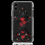 Пластиковый чехол со стразами Swarovski Kingxbar Phoenix Series для iPhone X Nimbus черный