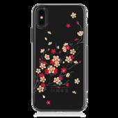 Пластиковый чехол со стразами Swarovski Kingxbar Phoenix Series для iPhone X черный