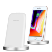 Беспроводное зарядное устройство Momax Q.Dock2 Fast Wireless Charger белое (UD5)