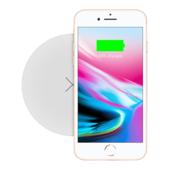 Беспроводное зарядное устройство Momax Q.Pad X Ultra Slim Wireless Charger белое (UD6)