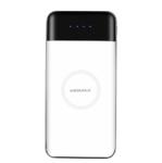 Внешний универсальный аккумулятор с беспроводной зарядкой Momax iPower Air Wireless External Battery 10000 мАч белый (IP80)