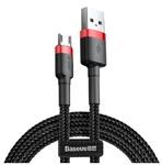 Кабель Baseus Cafule Cable Micro USB 2.4A 1 метр черный (CAMKLF)
