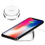 Беспроводное зарядное устройство Momax Q.Dock Crystal Fast Wireless Charger 7.5W белое (UD8W)