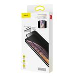 Защитное стекло Baseus Full-screen Curved Privacy Tempered Glass Screen Protector для iPhone XS / iPhone X (SGAPIPH58-WC01)