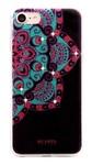 Силиконовый чехол Beckberg со стразами Swarowski для iPhone 8 / iPhone 7 Exotic вид 8