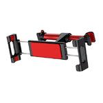 Универсальный автомобильный держатель Baseus Backseat Car Mount на подголовник красный
