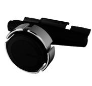Магнитный автомобильный держатель Ppyple CDView M+ в CD-Rom для планшетов черный