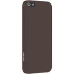 Чехол Ozaki O!coat 0.3 Solid для iPhone SE / iPhone 5S / iPhone 5 коричневый (OC530BR)