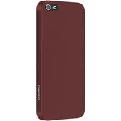 Чехол Ozaki O!coat 0.3 Solid для iPhone SE / iPhone 5S / iPhone 5 красный (OC530RD)