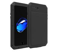 Противоударный металлический чехол LunaTik TakTik Strike для iPhone 8 / iPhone 7 черный