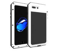 Противоударный металлический чехол LunaTik TakTik Strike для iPhone 8 / iPhone 7 белый