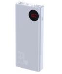 Внешний аккумулятор Baseus Mulight Quick Charge Power Bank 30000 мАч белый (PPMY-01)