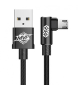 Кабель Baseus MVP Elbow Type Cable Micro USB 1.5A 2 метра черный (CAMMVP-B01)