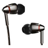 Наушники с регулировкой громкости 1MORE E1010 Quad Driver In-Ear Headphones серые