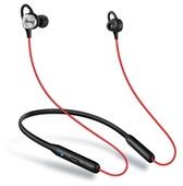 Беспроводные наушники для спорта Meizu с регулировкой громкости красные (EP52)
