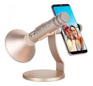 Беспроводной караоке-микрофон Momax K-MIC PRO Bluetooth Karaoke Microphone золотой (IM2)