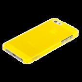 Накладка пластиковая XINBO для iPhone SE / iPhone 5S / iPhone 5 желтая