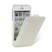 Чехол Melkco для iPhone SE / iPhone 5S / iPhone 5 Leather Case Jacka Type крокодил белый