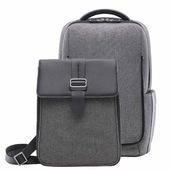 Рюкзак 2 в 1 Xiaomi Mi Fashion Commuter Backpack темно-серый
