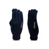 Перчатки для сенсорных экранов iGlove для iPhone / iPod / iPad / Android темно-синие