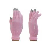 Перчатки для сенсорных экранов iGlove для iPhone / iPod / iPad / Android розовые