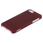 Накладка пластиковая XINBO для iPhone SE / iPhone 5S / iPhone 5 бордовая