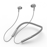 Беспроводные наушники для спорта с регулировкой громкости Xiaomi Mi Bluetooth Collar Earphones серебристые