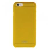 Чехол накладка XINBO для iPhone 6S / iPhone 6 желтая